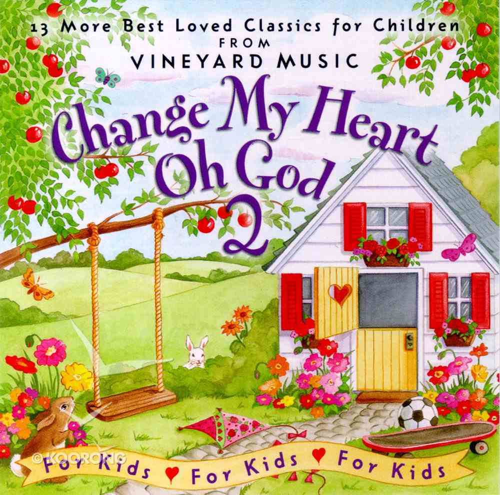 Change My Heart Oh God CD