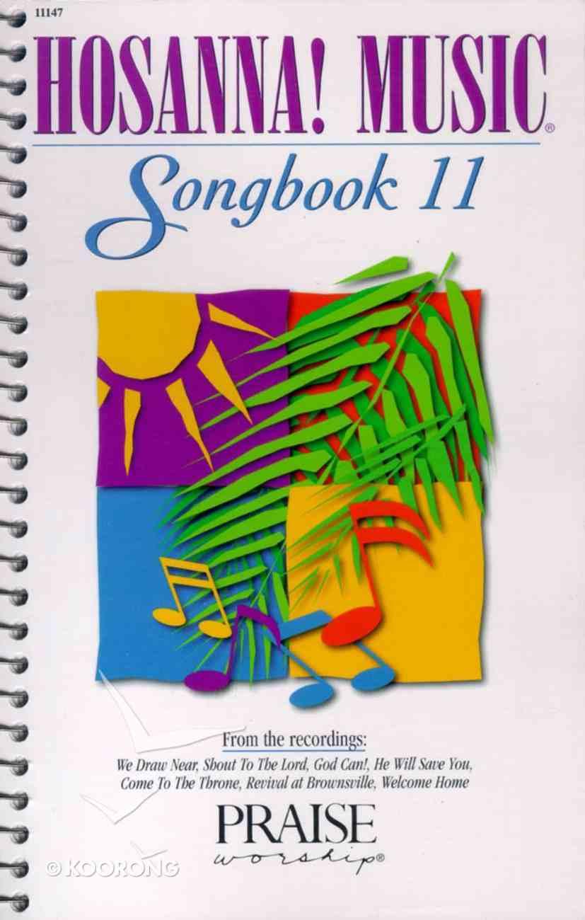 Hosanna Music Songbook 11 Paperback