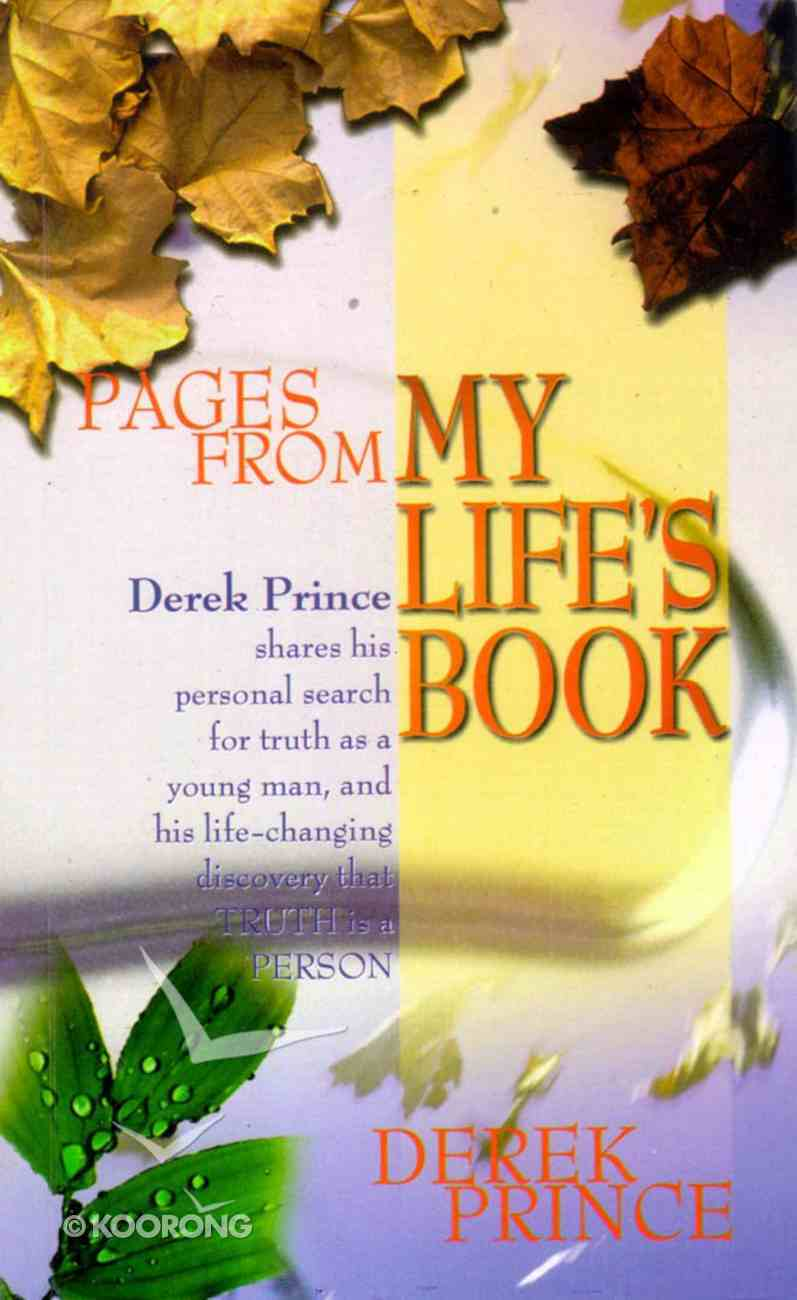 Pages From My Life's Book Paperback