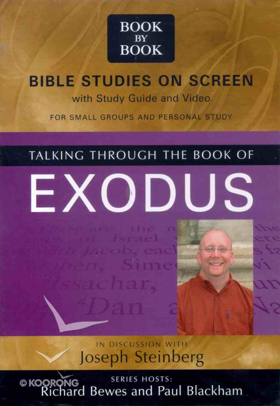 Talking Through the Book of Exodus (Pal) (Book By Book Series) Video