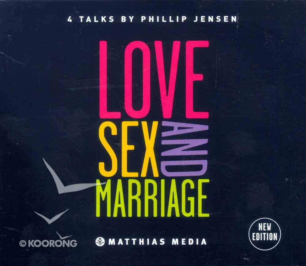 Love, Sex and Marriage (Mp3) CD
