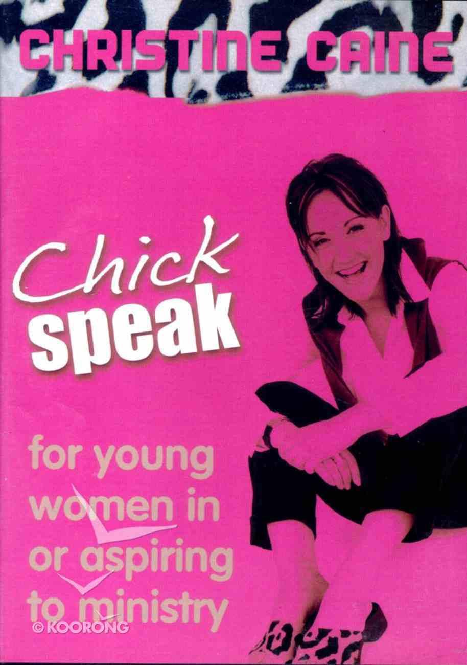 Chick Speak CD