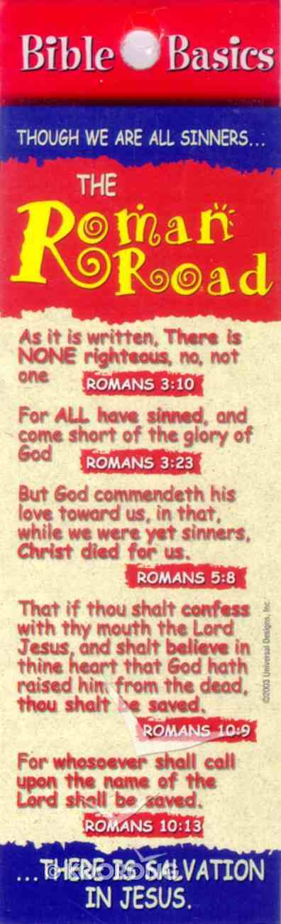 The Roman Road (10 Pack) (Bible Basics Bookmark Series) Stationery