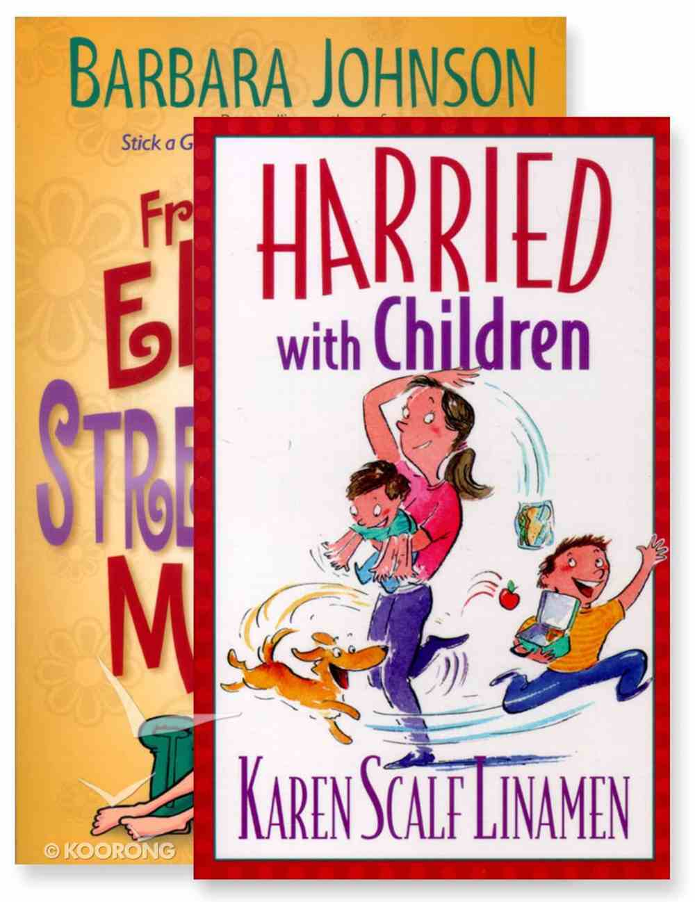 Harried With Children/Fresh Elastic For Stretched Out Mums 2 Pack Paperback