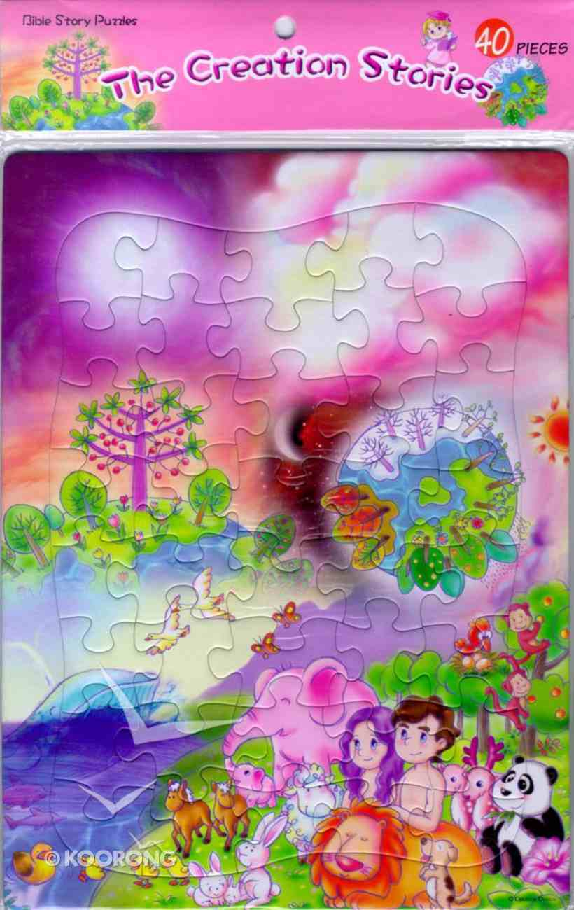 Bible Story Puzzles: The Creation Story (40 Pieces) Game