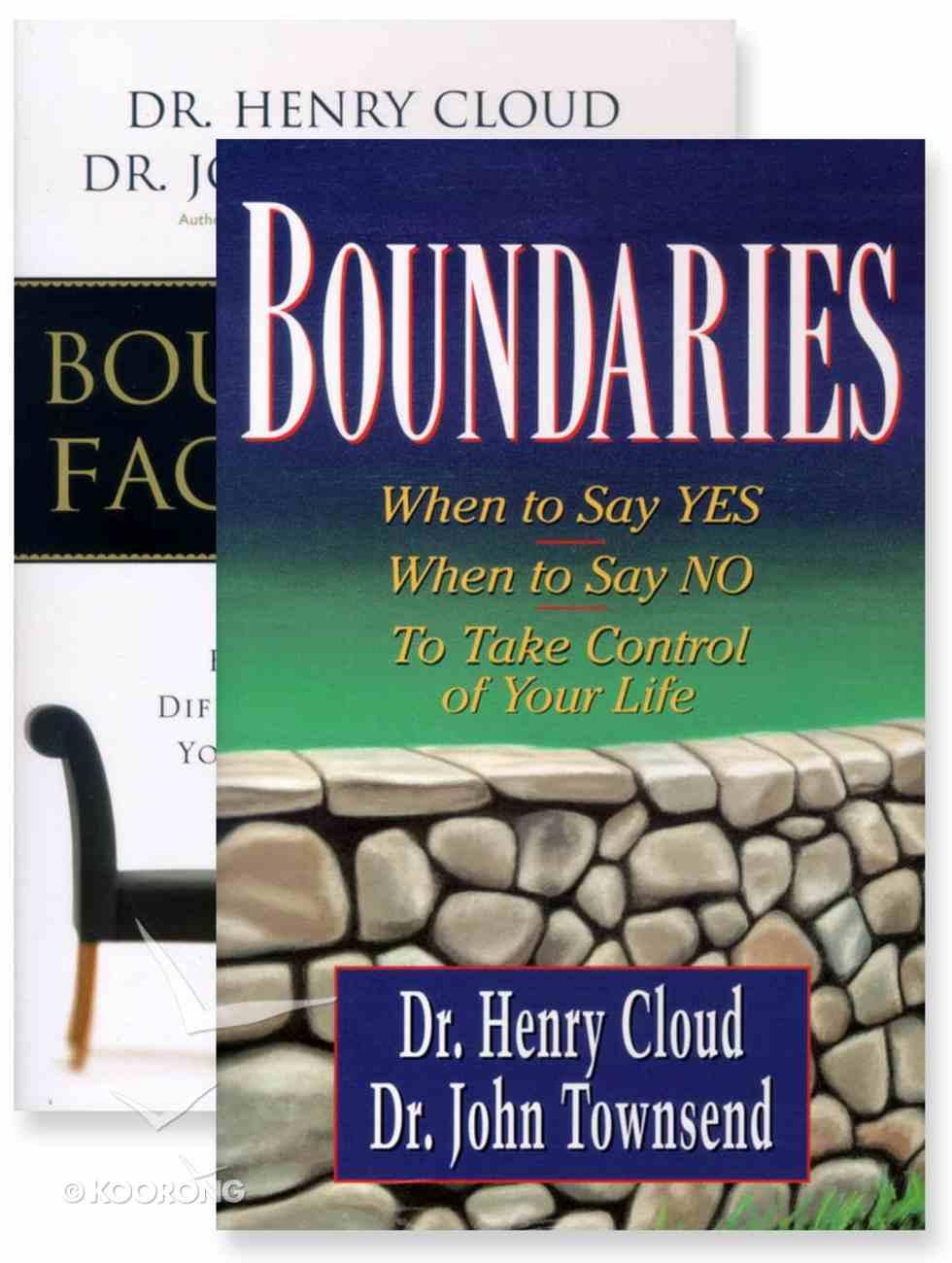 Boundaries (Two Pack) Paperback