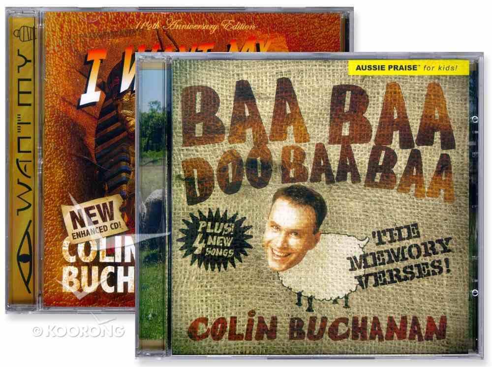 Baa Baa Doo Baa/I Want My Mummy CD Pack CD