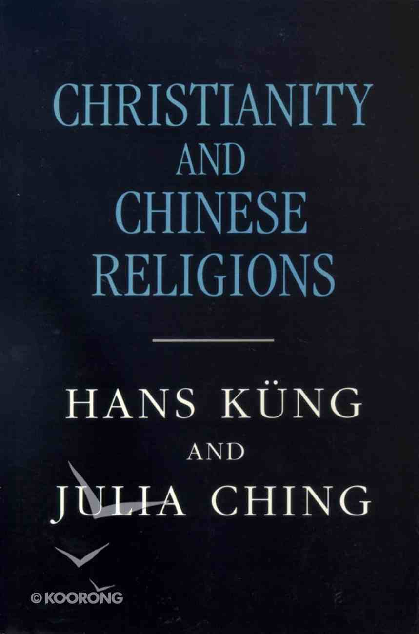 Christianity and Chinese Religions Paperback
