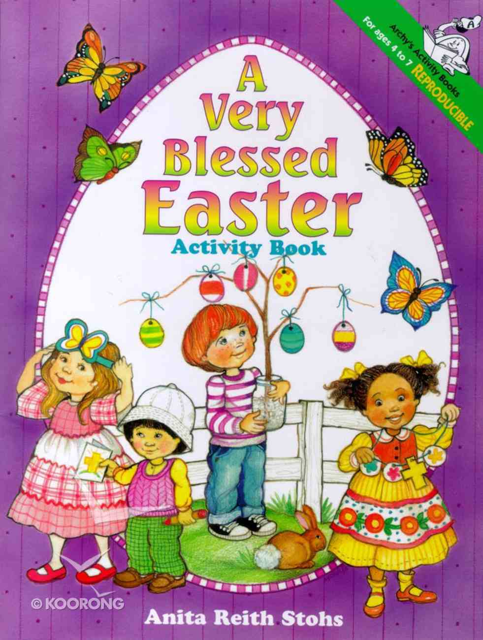 A Very Blessed Easter (Activity Book) Paperback