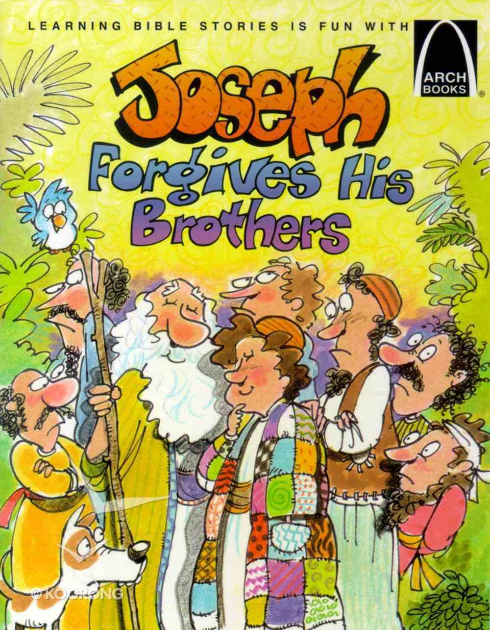 Joseph Forgives His Brothers (Arch Books Series) Paperback