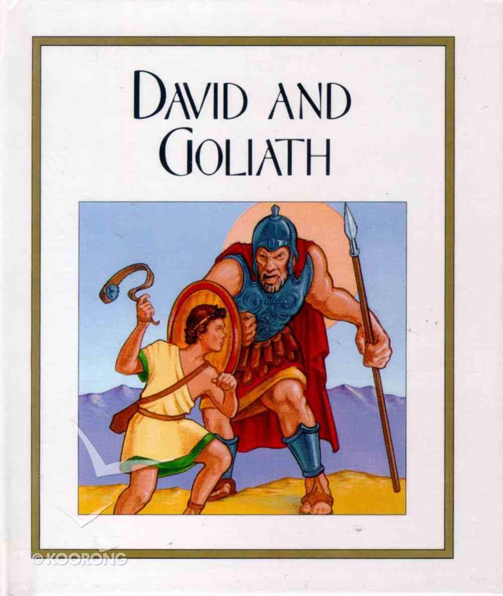 David and Goliath (Children's Bible Stories Series) Hardback