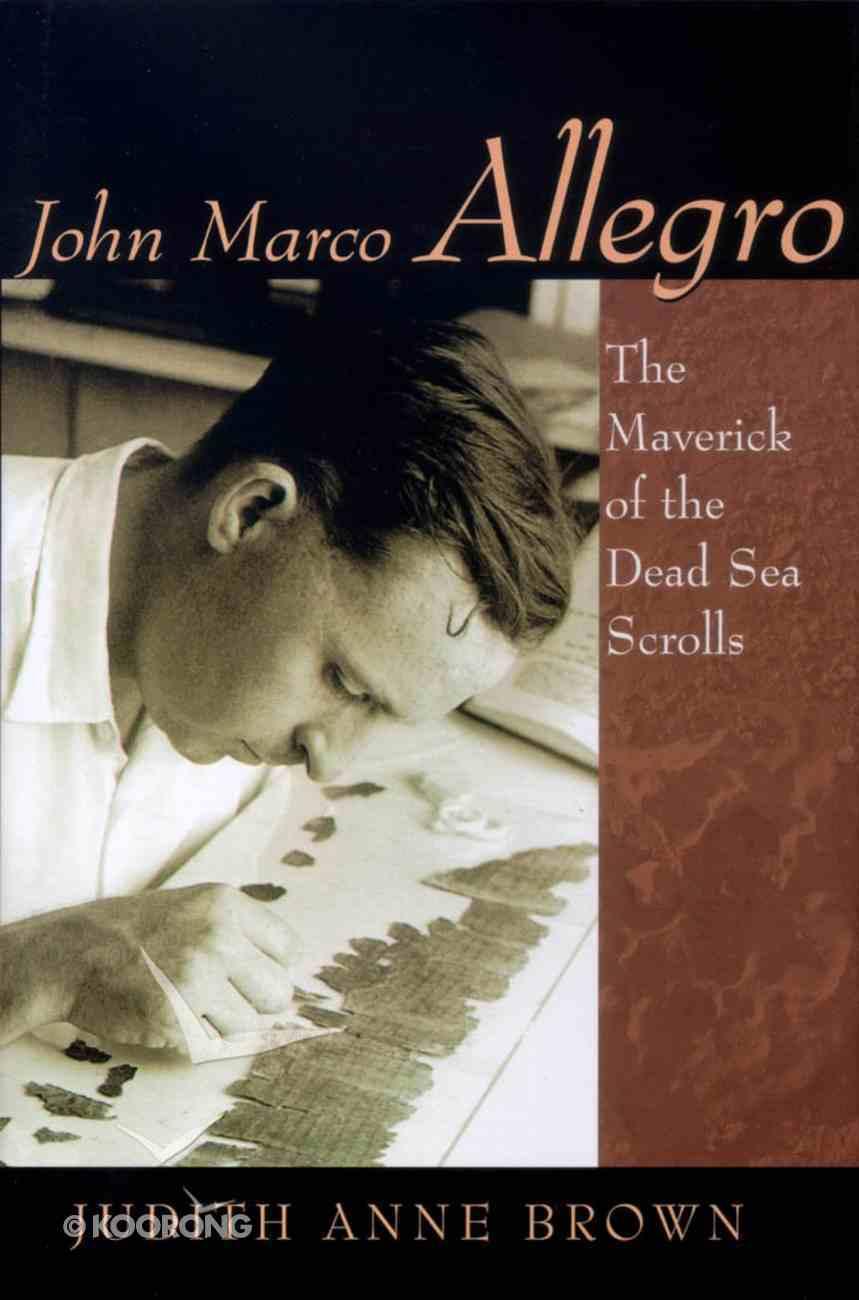 John Marco Allegro Hardback