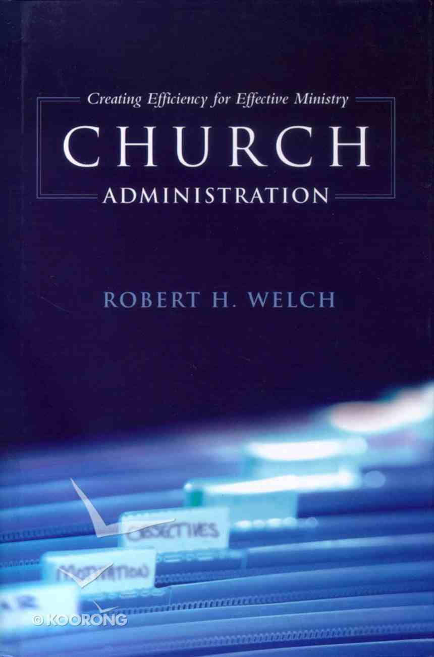 Church Administration Hardback