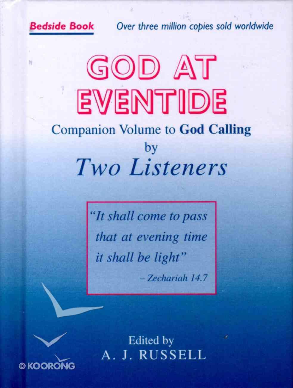 God At Eventide Hardback