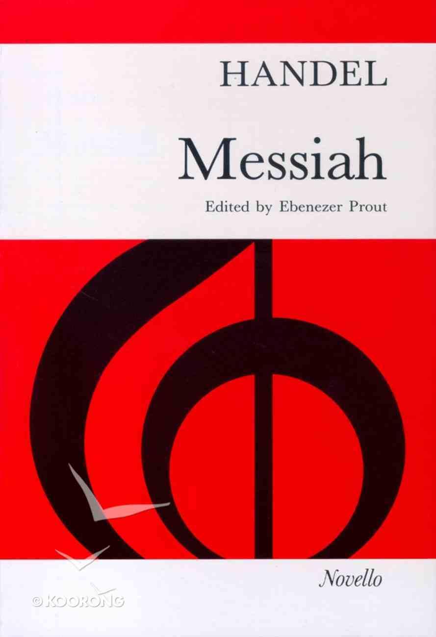 Handels Messiah Prout Vocal Score Paperback