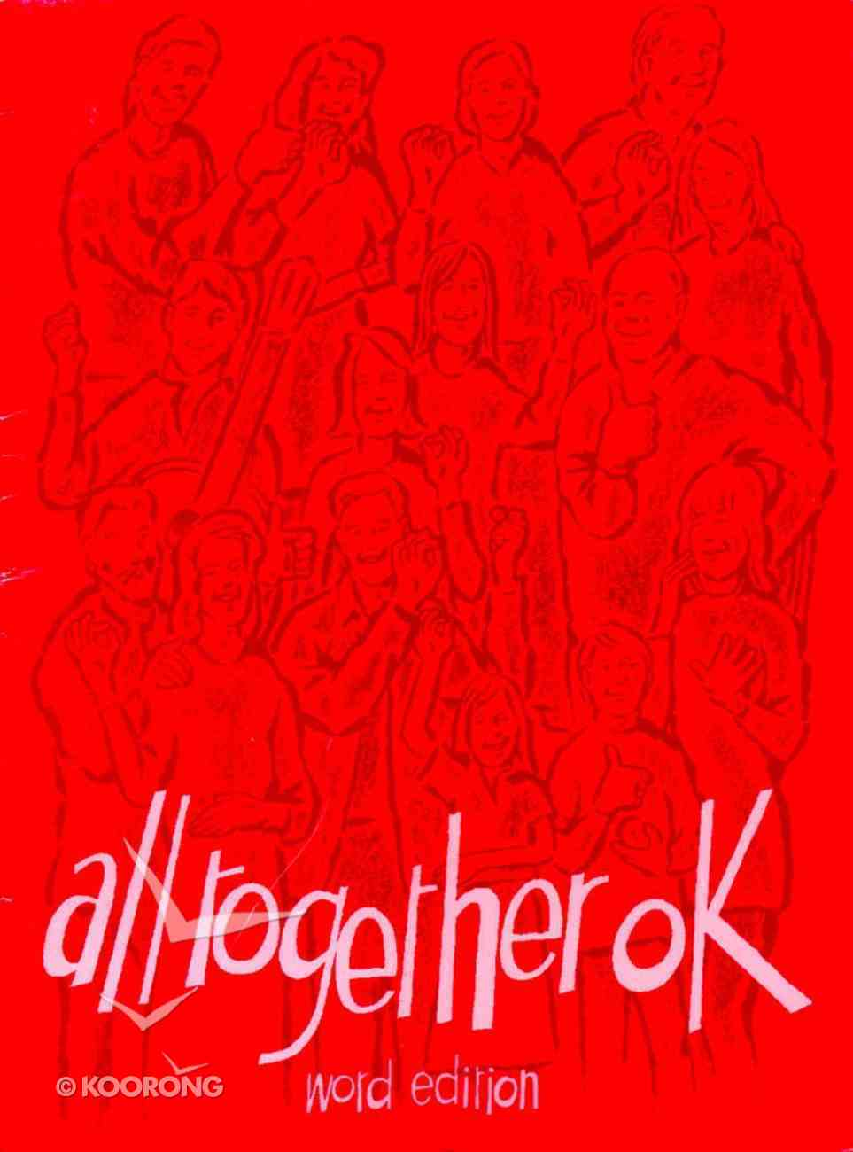 (Red) (#4 in All Together Music Series) Paperback