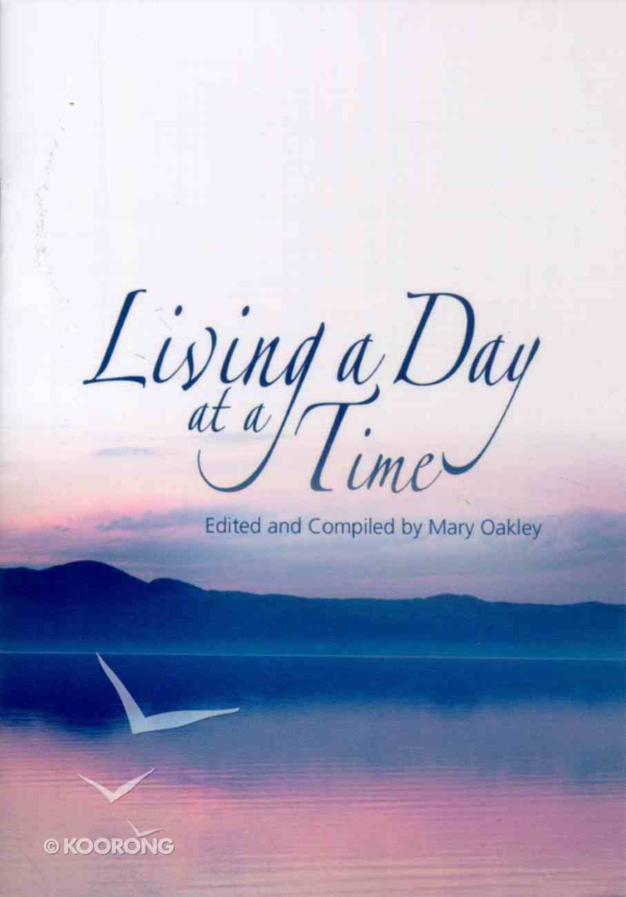 Living a Day At a Time Booklet
