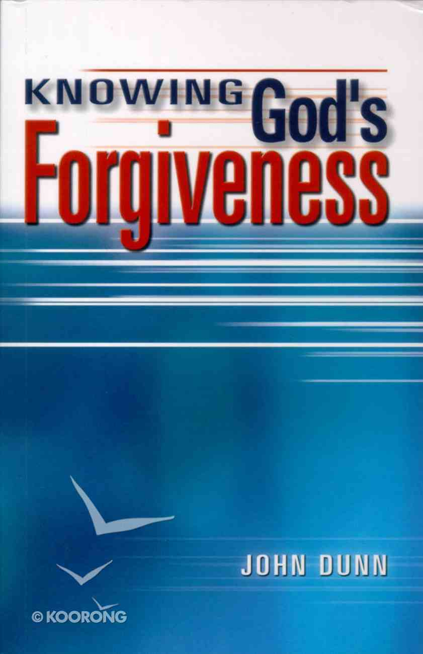Knowing God's Forgiveness Paperback