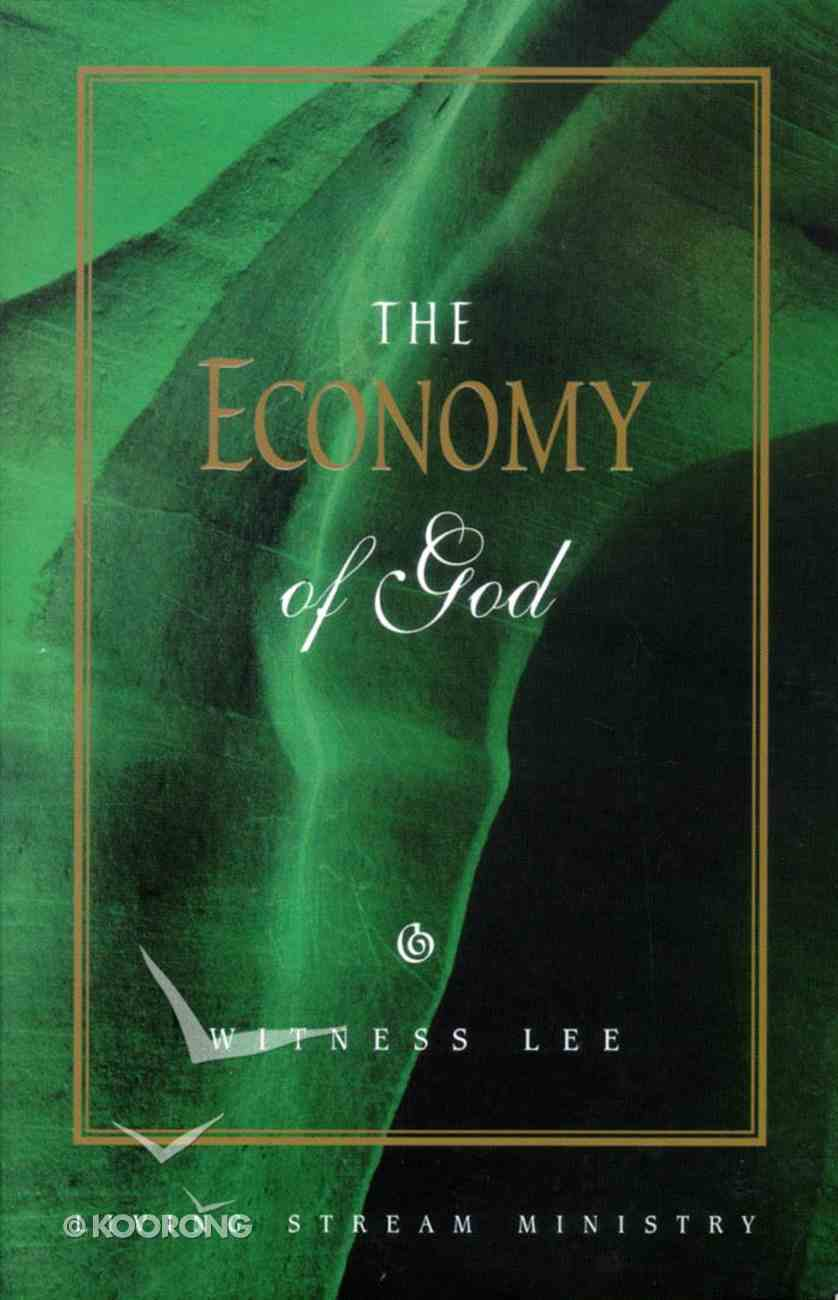 The Economy of God Paperback