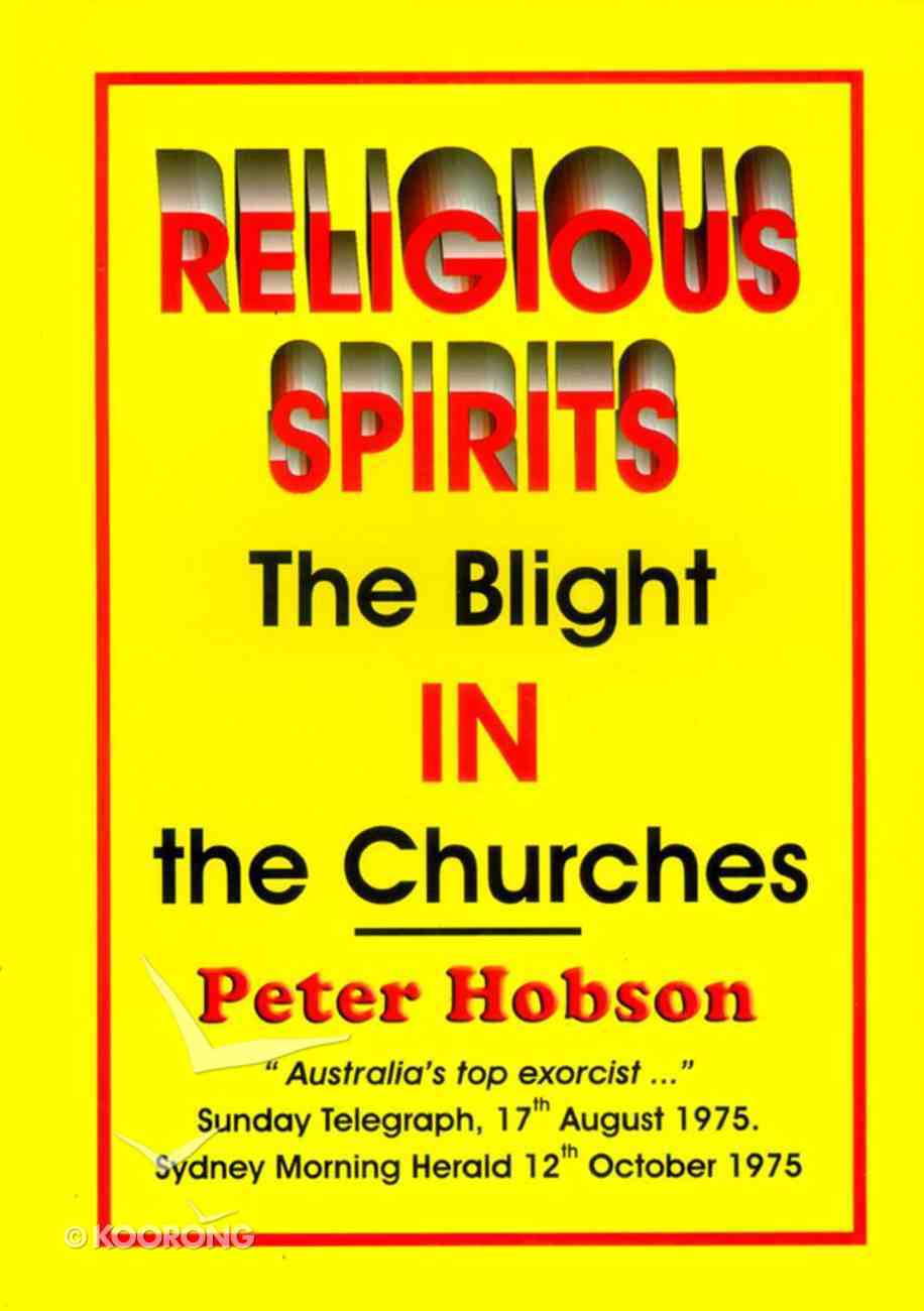 Religious Spirits Paperback