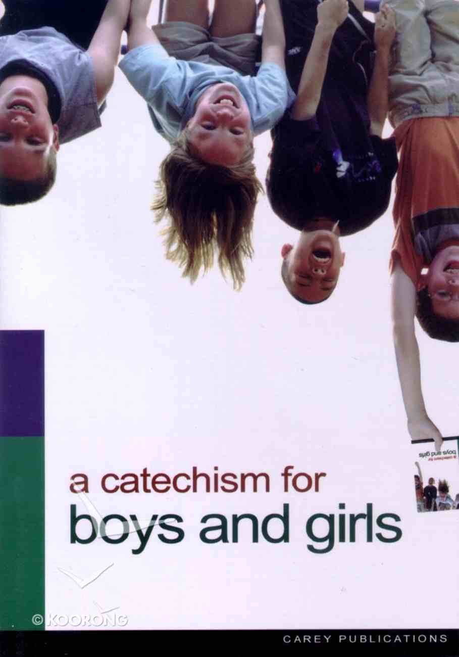 Catechism For Boys and Girls Booklet