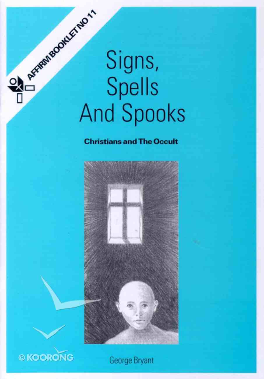 Signs, Spells and Spooks Booklet