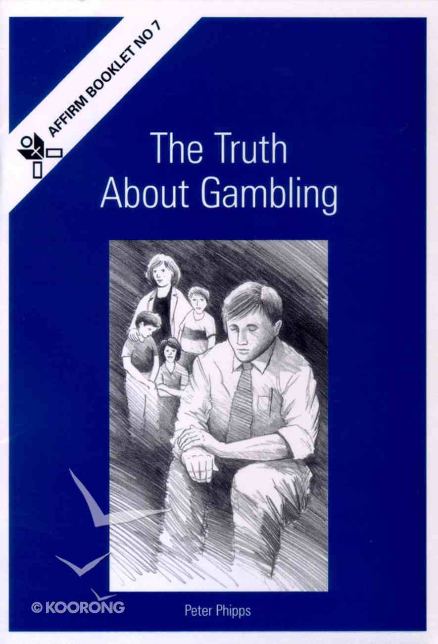 The Truth About Gambling Booklet