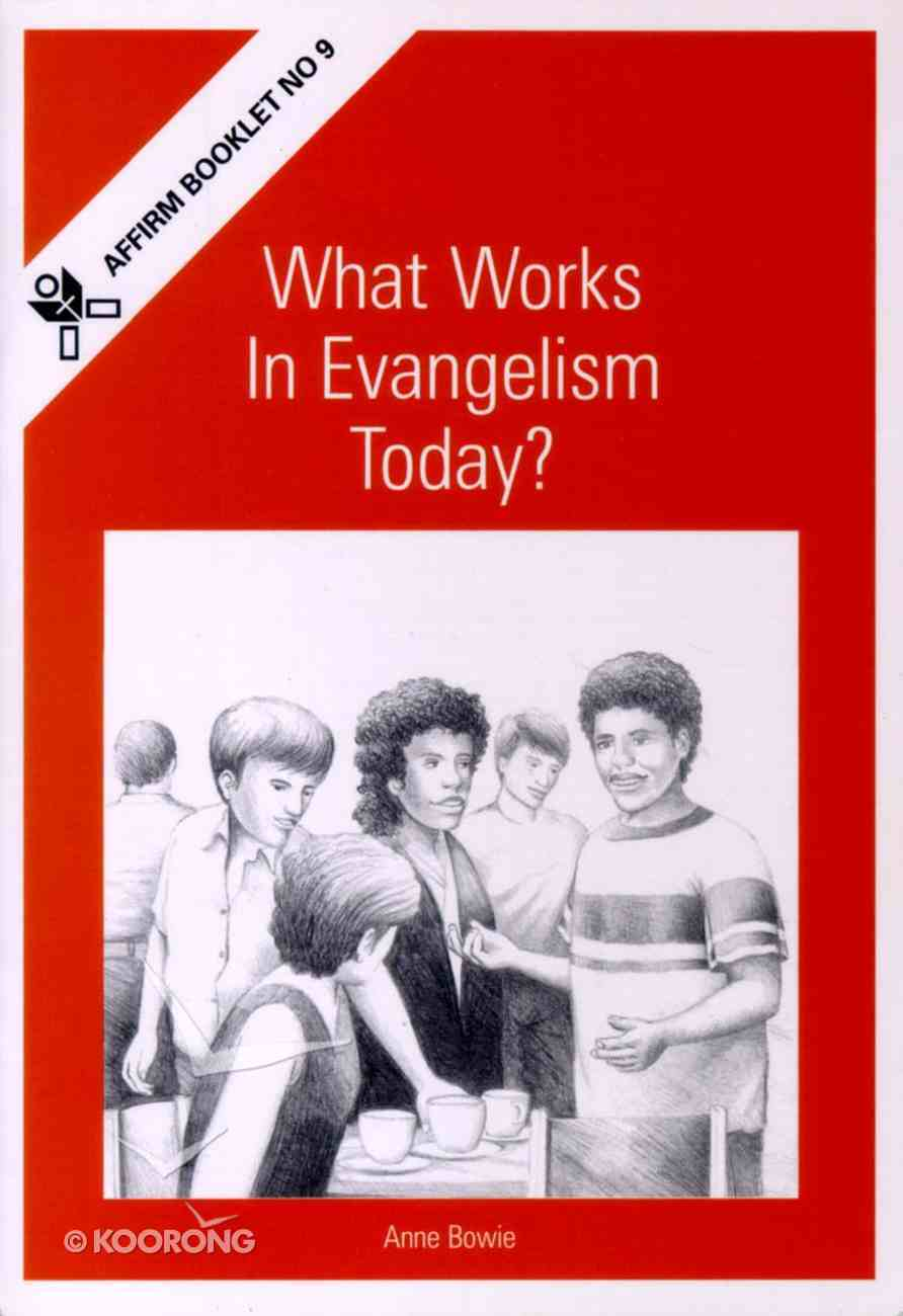 What Works in Evangelism Today? Booklet