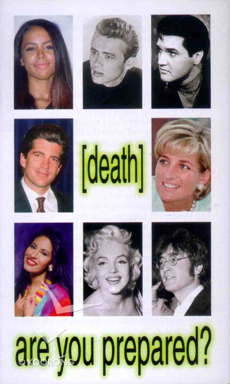 Death: Are You Prepared? (20 Pack) Booklet