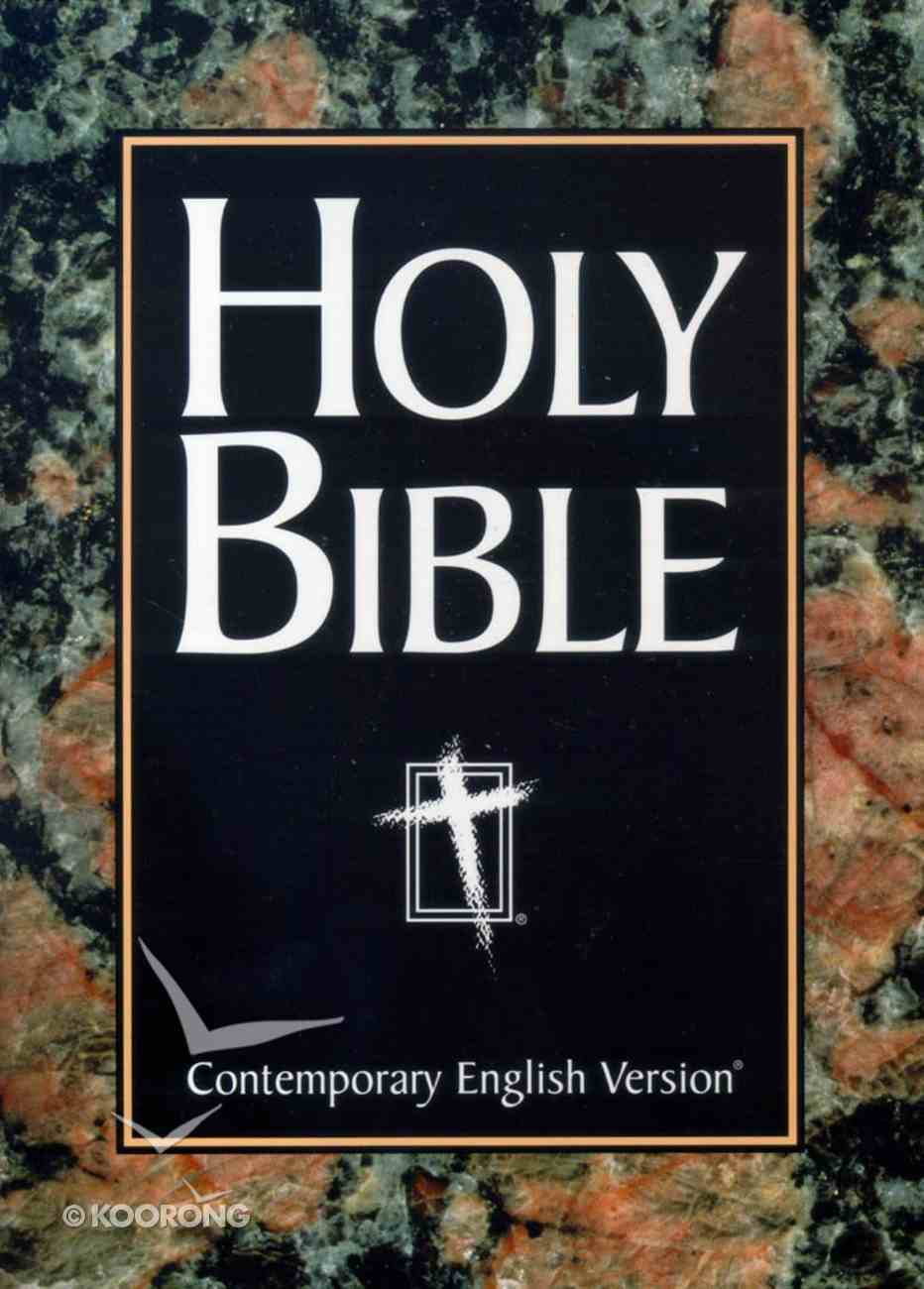 CEV Large Print Bible Paperback