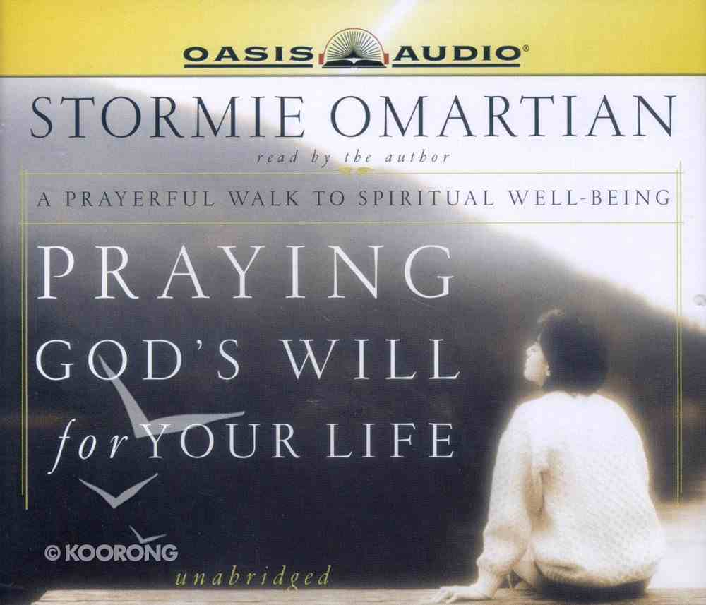 Praying God's Will For Your Life CD