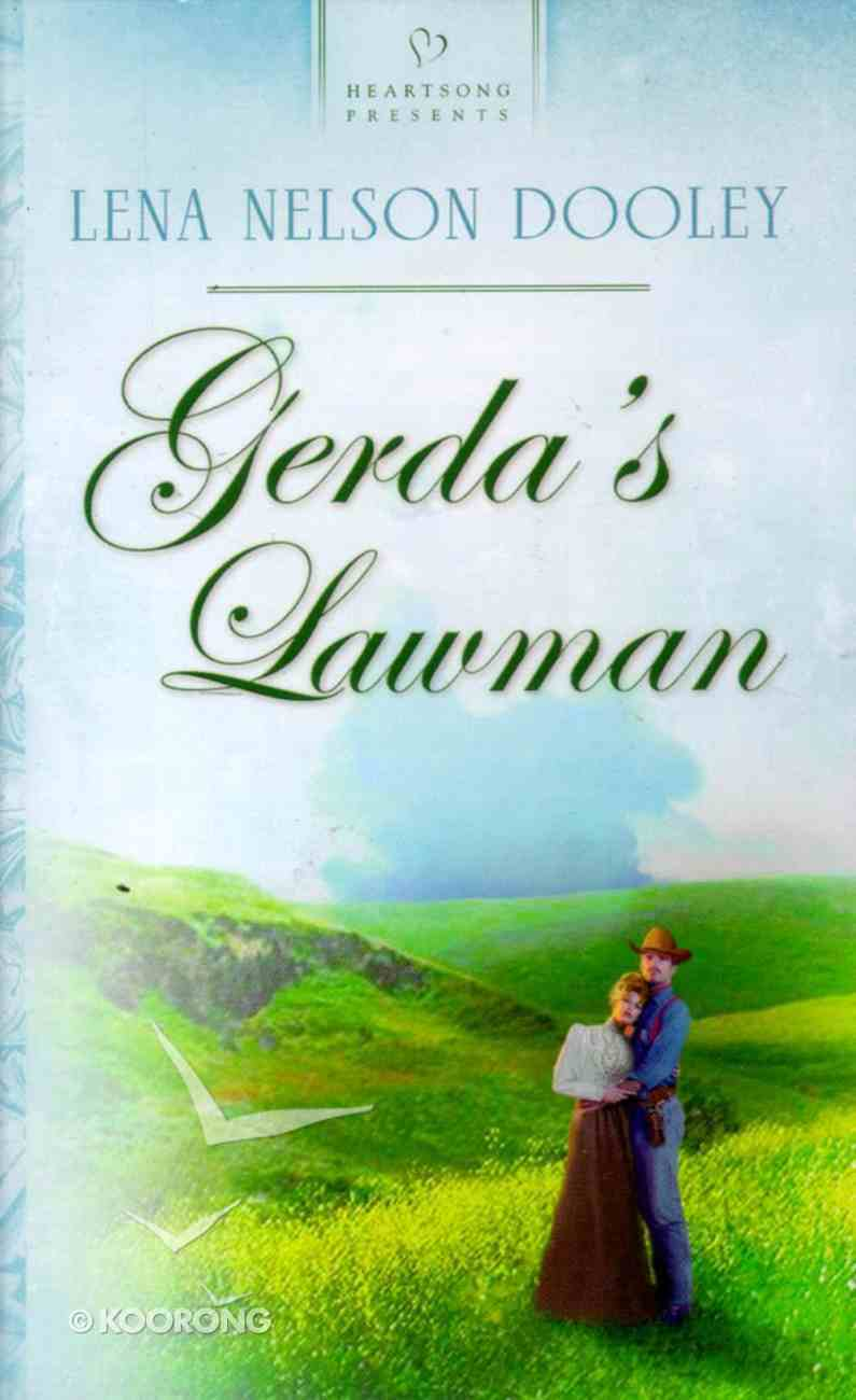 Gerda's Lawman (Heartsong Series) Paperback