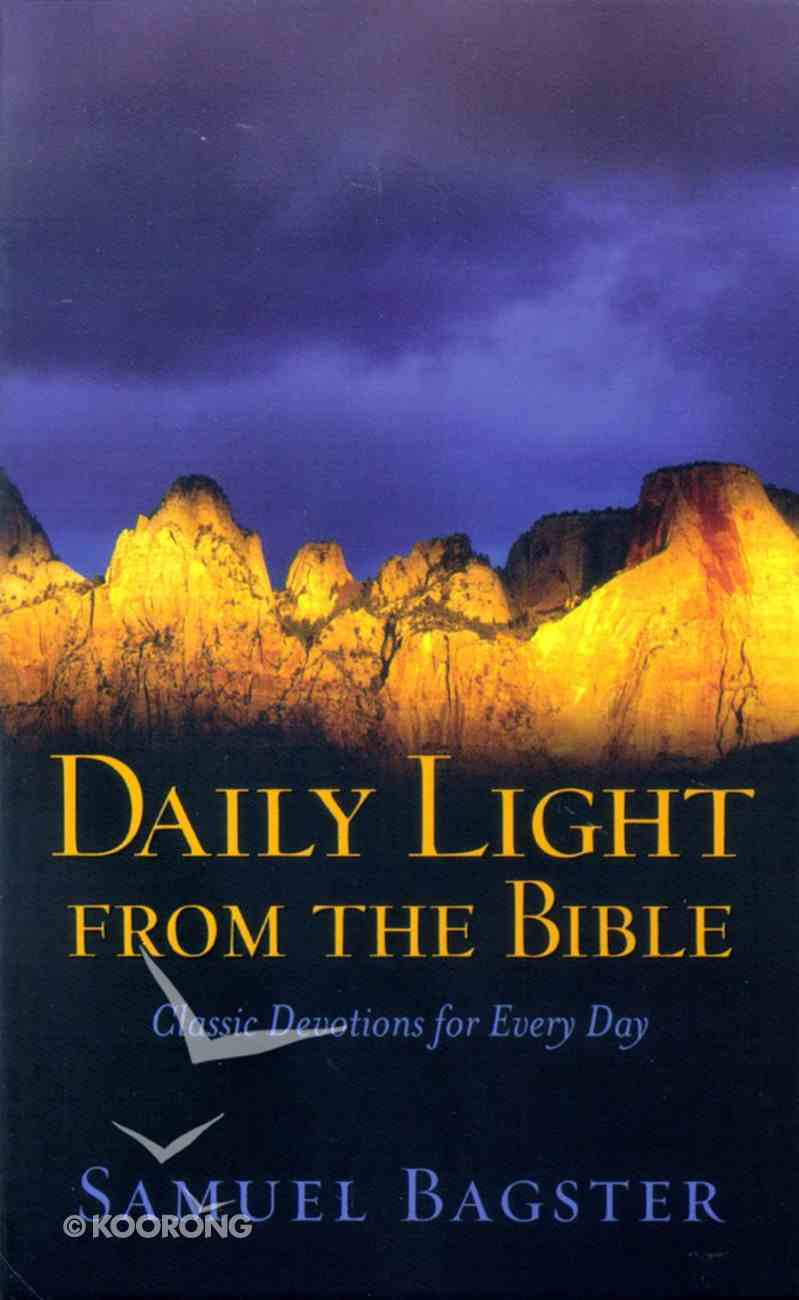 Daily Light From the Bible Paperback