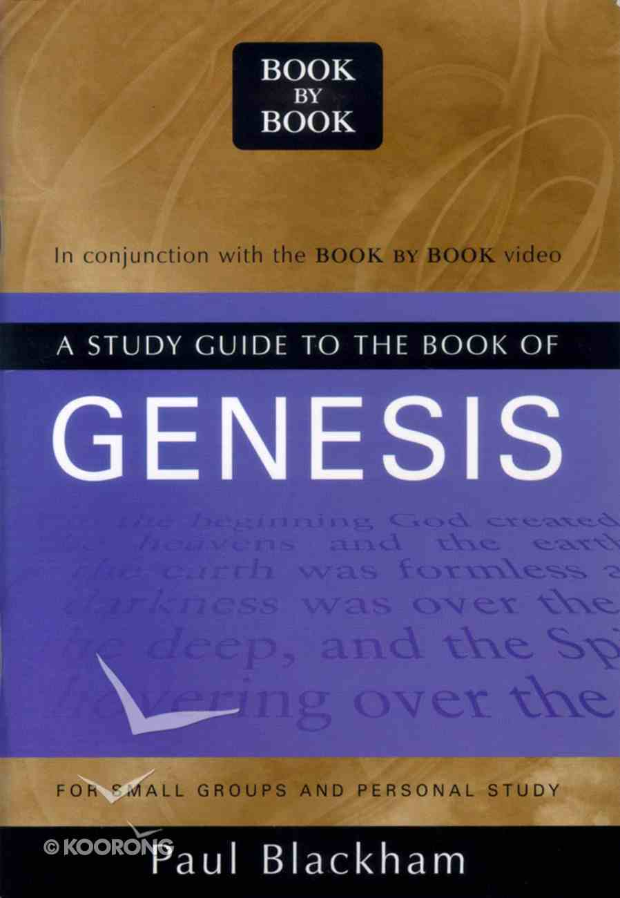 A Study Guide to the Book of Genesis (Book By Book Series) Paperback