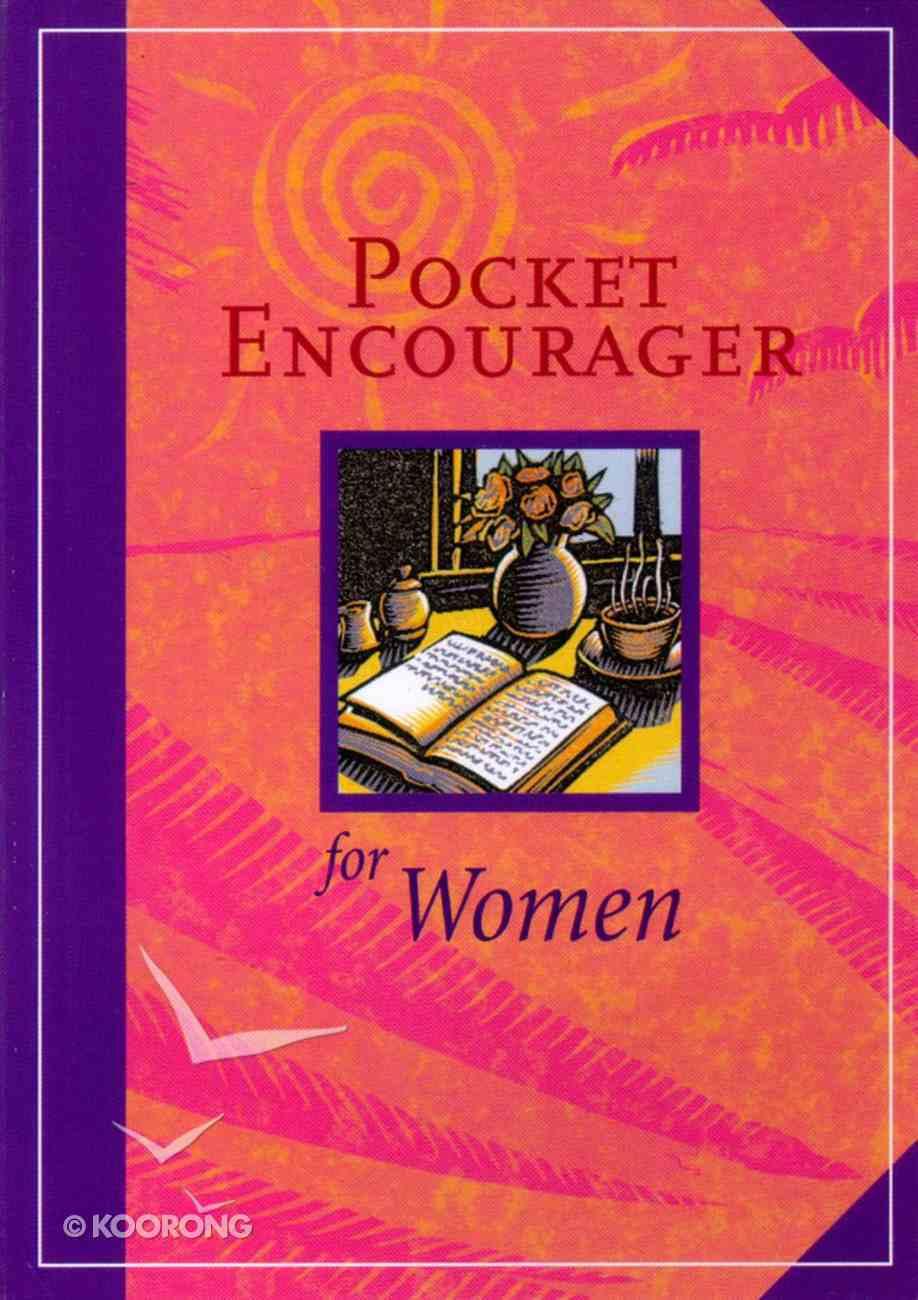 Pocket Encourager For Women Paperback