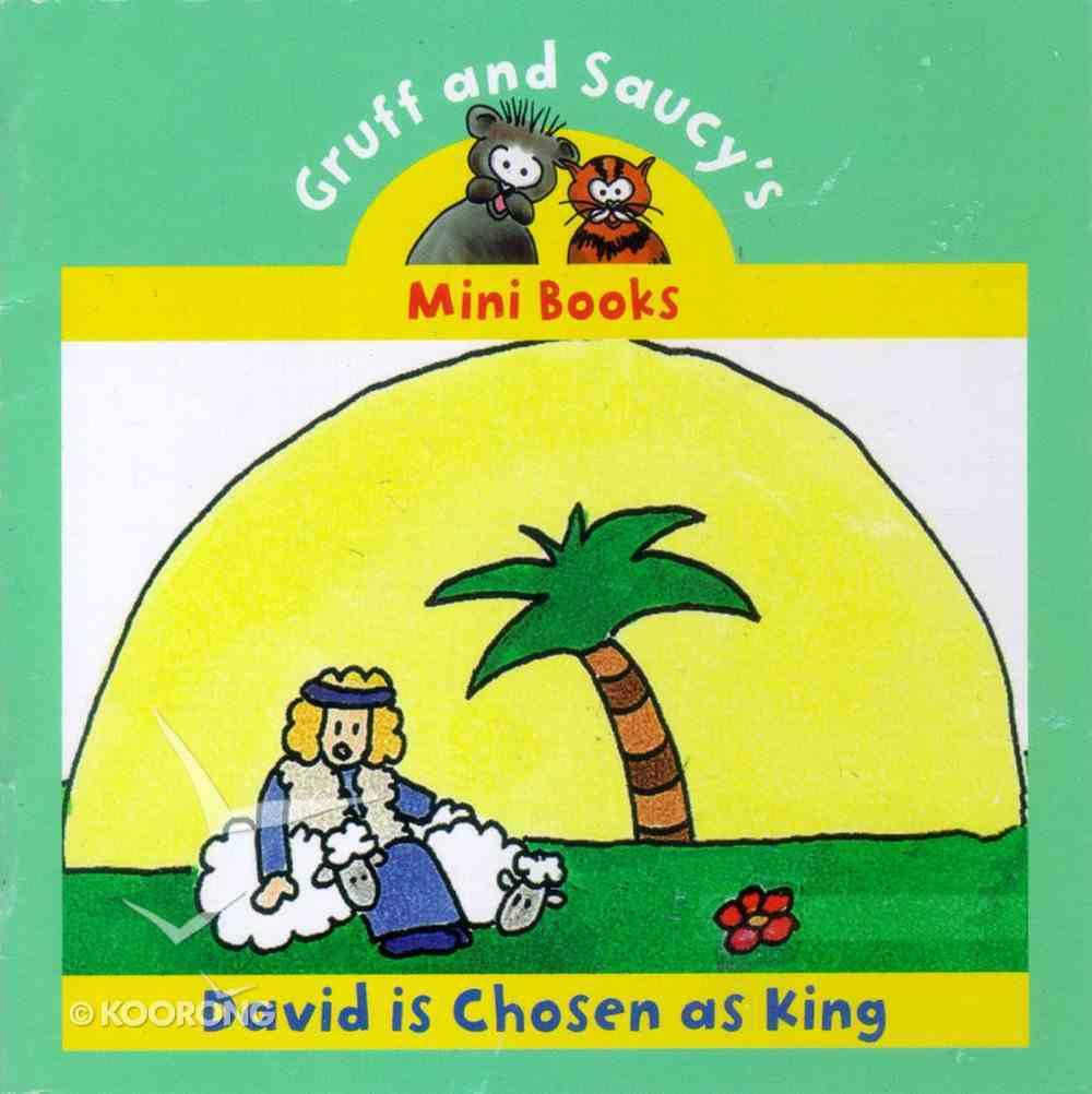David is Chosen as King (Mini Gruff And Saucy Series) Paperback
