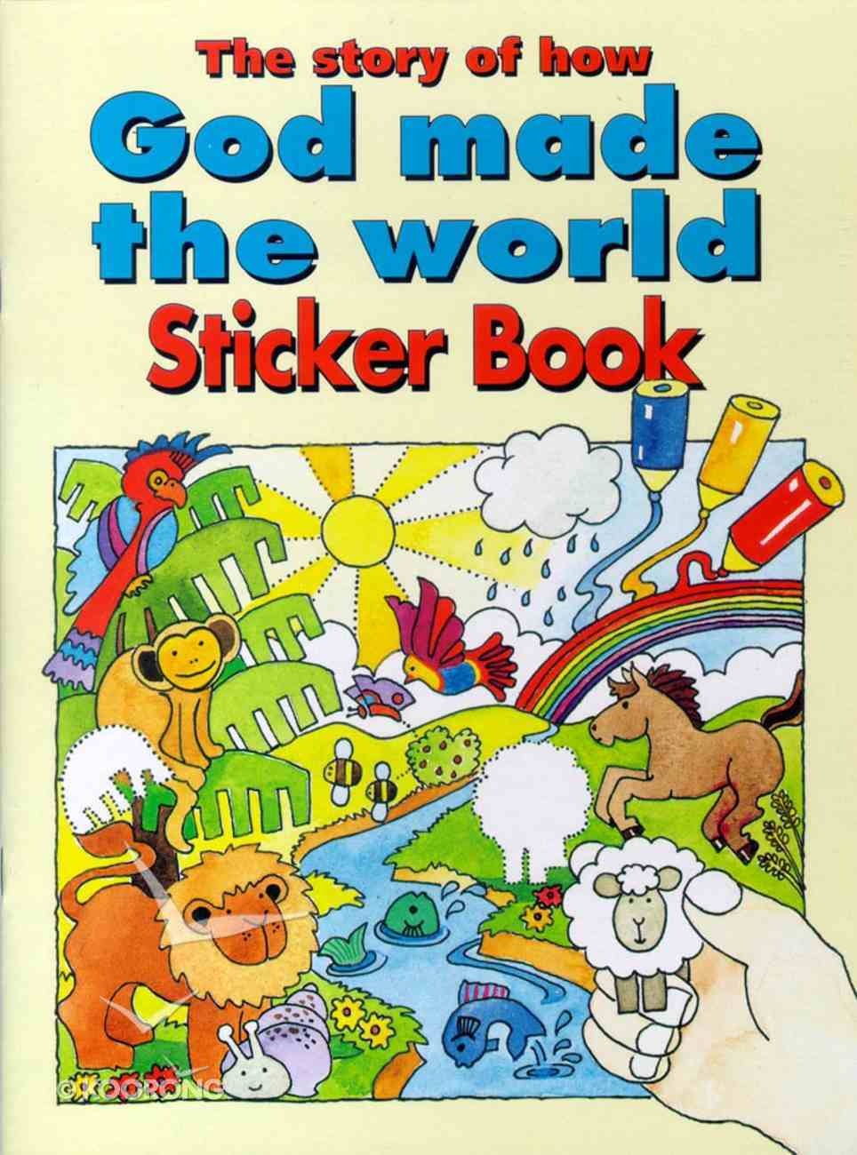 The Story of How God Made the World Sticker Book Paperback