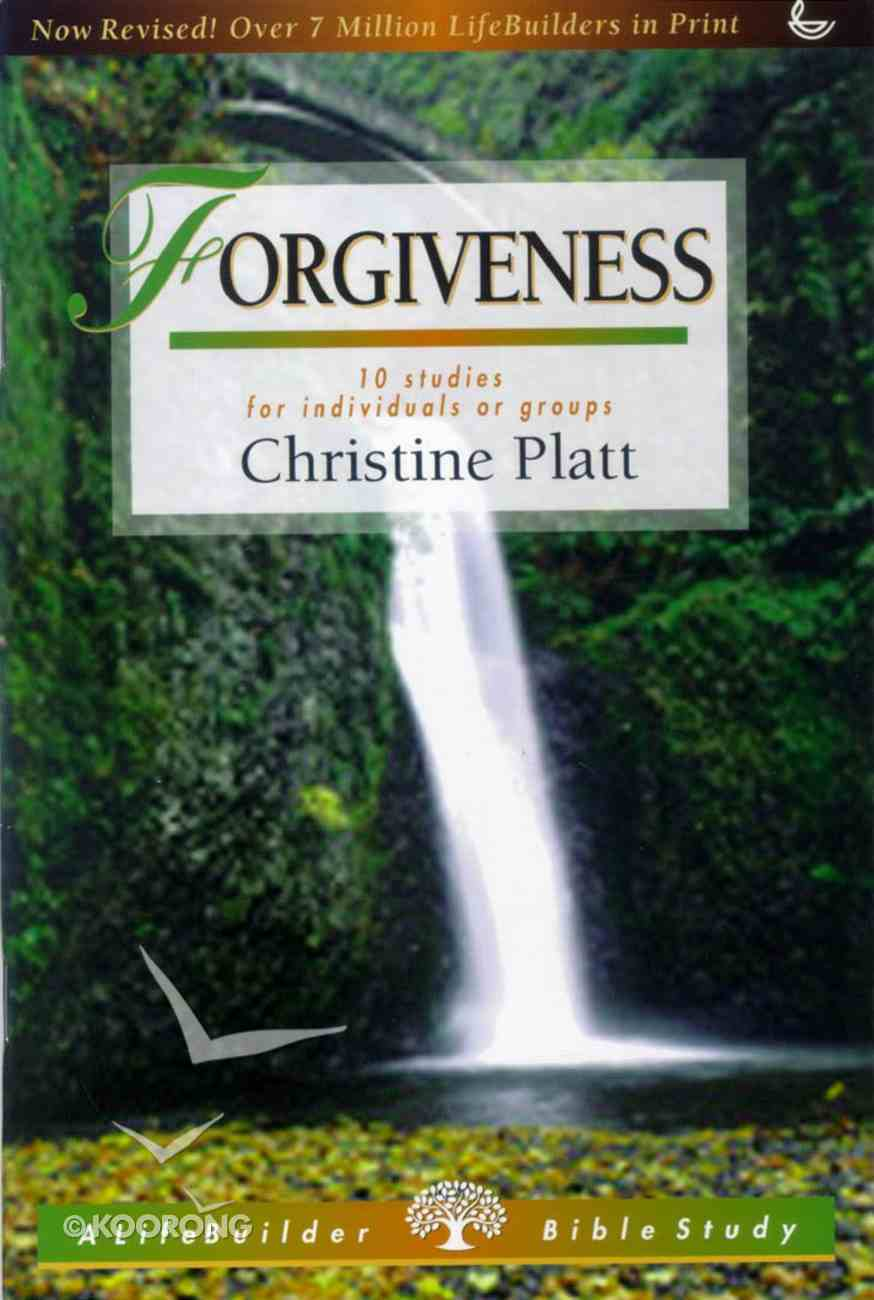 Forgiveness (Lifebuilder Bible Study Series) Paperback