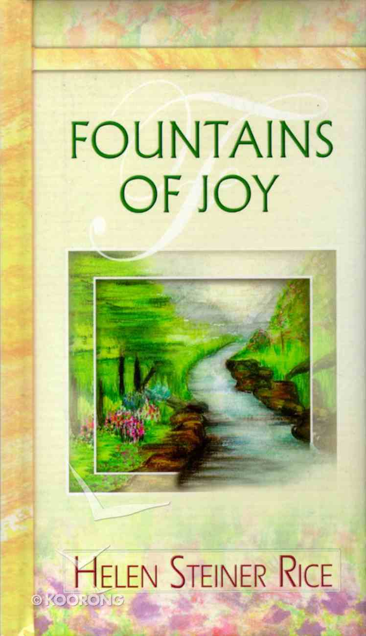 Fountains of Joy Hardback