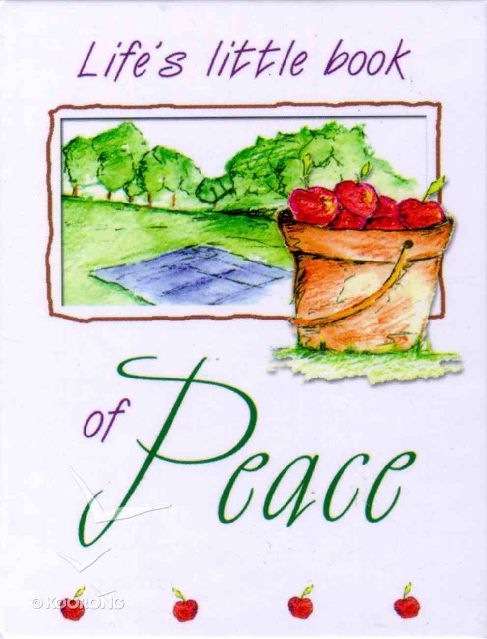 Life's Little Book of Peace Hardback