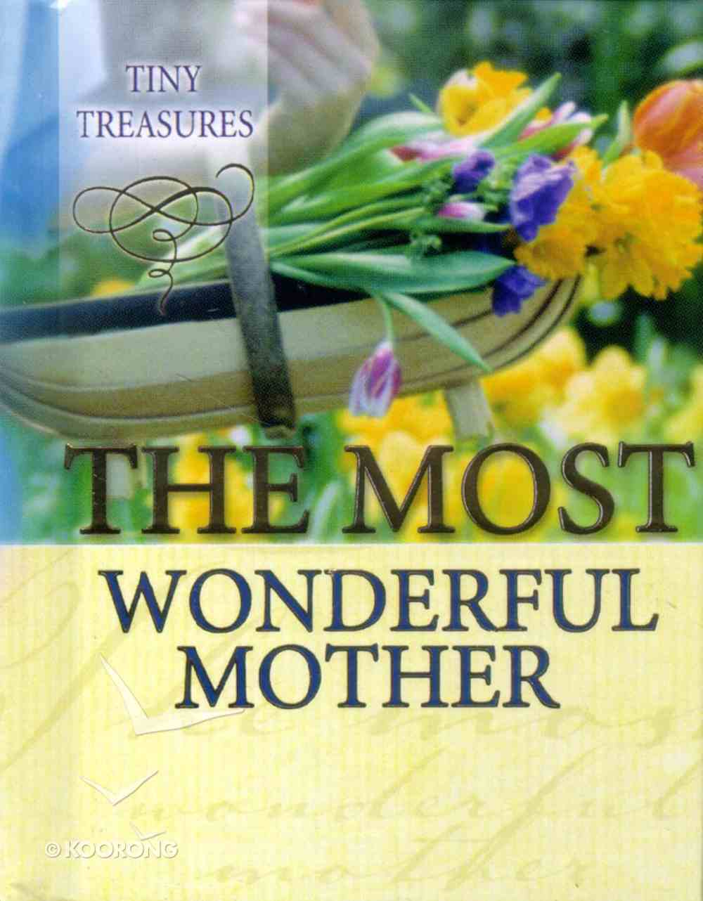 Most Wonderful Mother (Tiny Treasures Series) Hardback