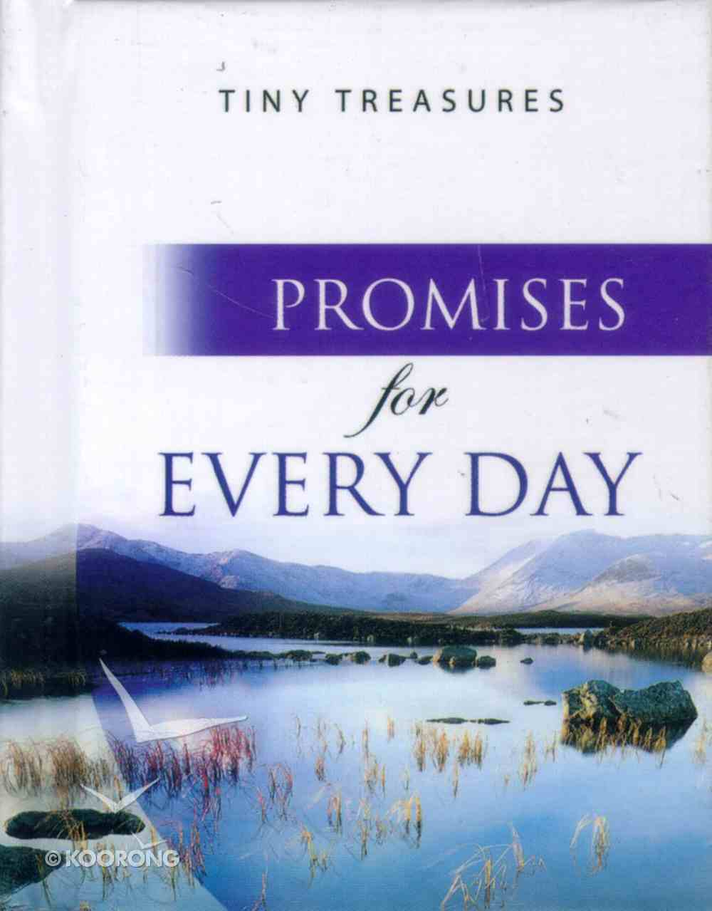 Promises For Every Day (Tiny Treasures Series) Hardback