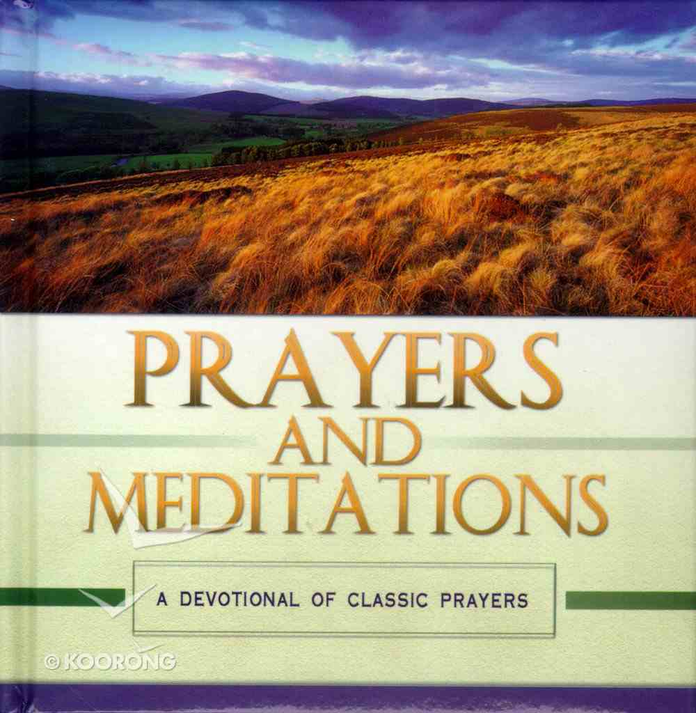 Prayers and Meditations Hardback