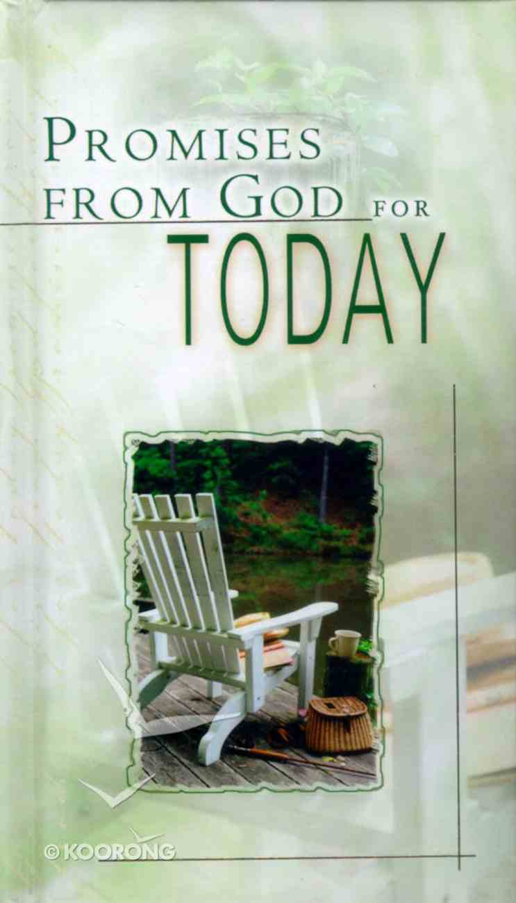 Promises From God For Today Hardback