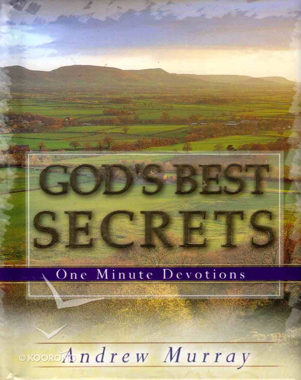 One Minute Devotions: God's Best Secrets Hardback