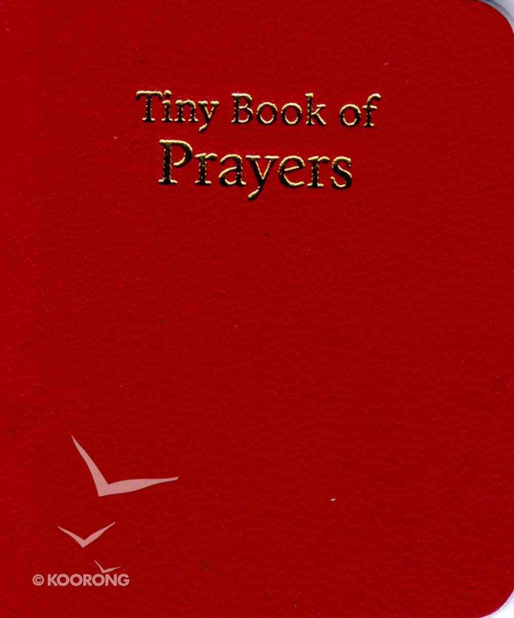 Novelty: Tiny Book of Prayers Red Novelty