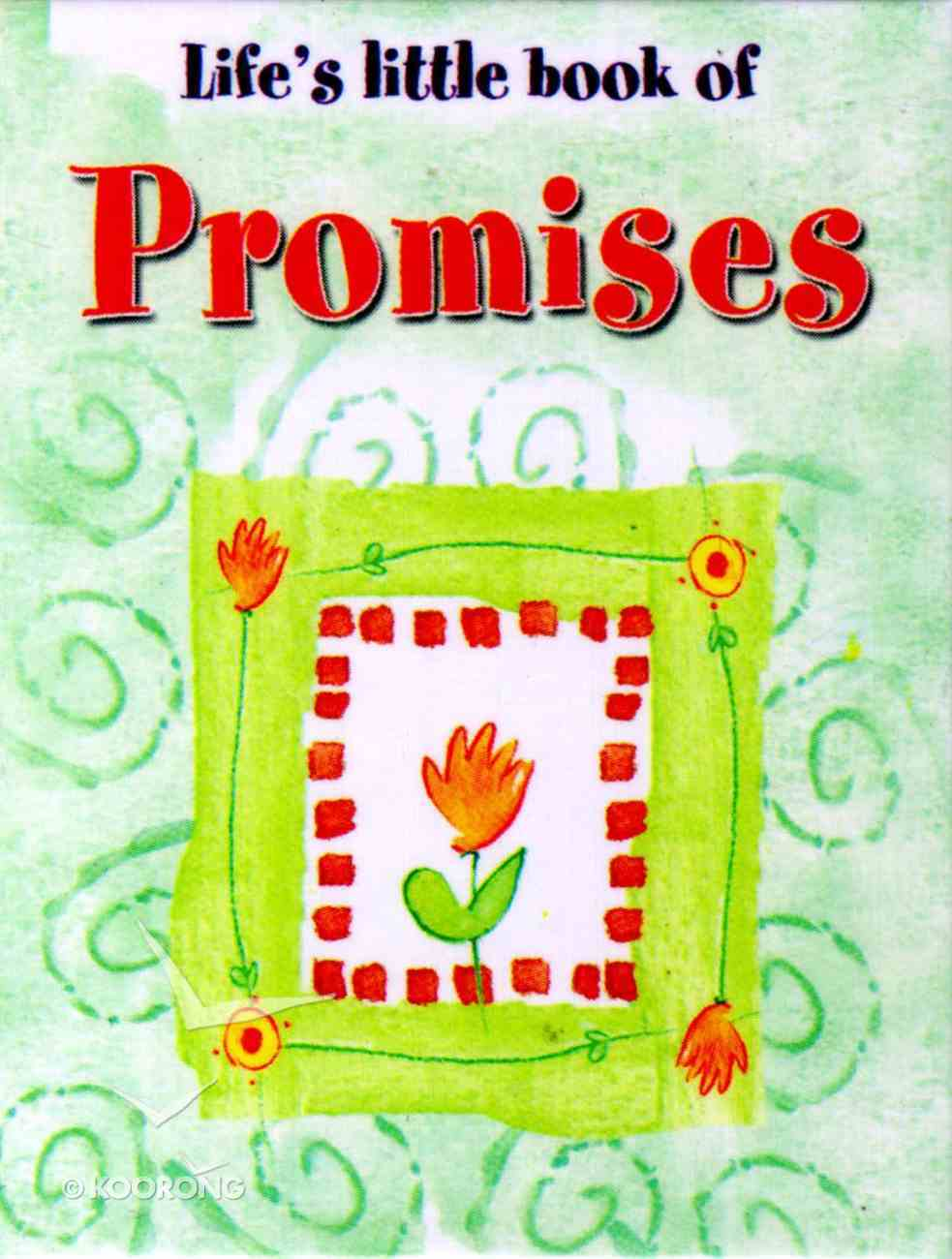 Life's Little Book of Promises Hardback