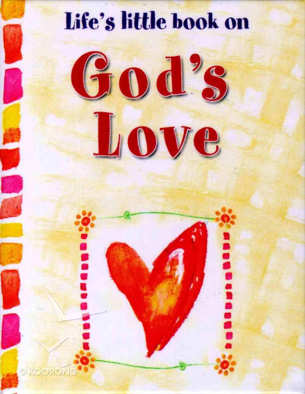 Life's Little Book on God's Love Hardback