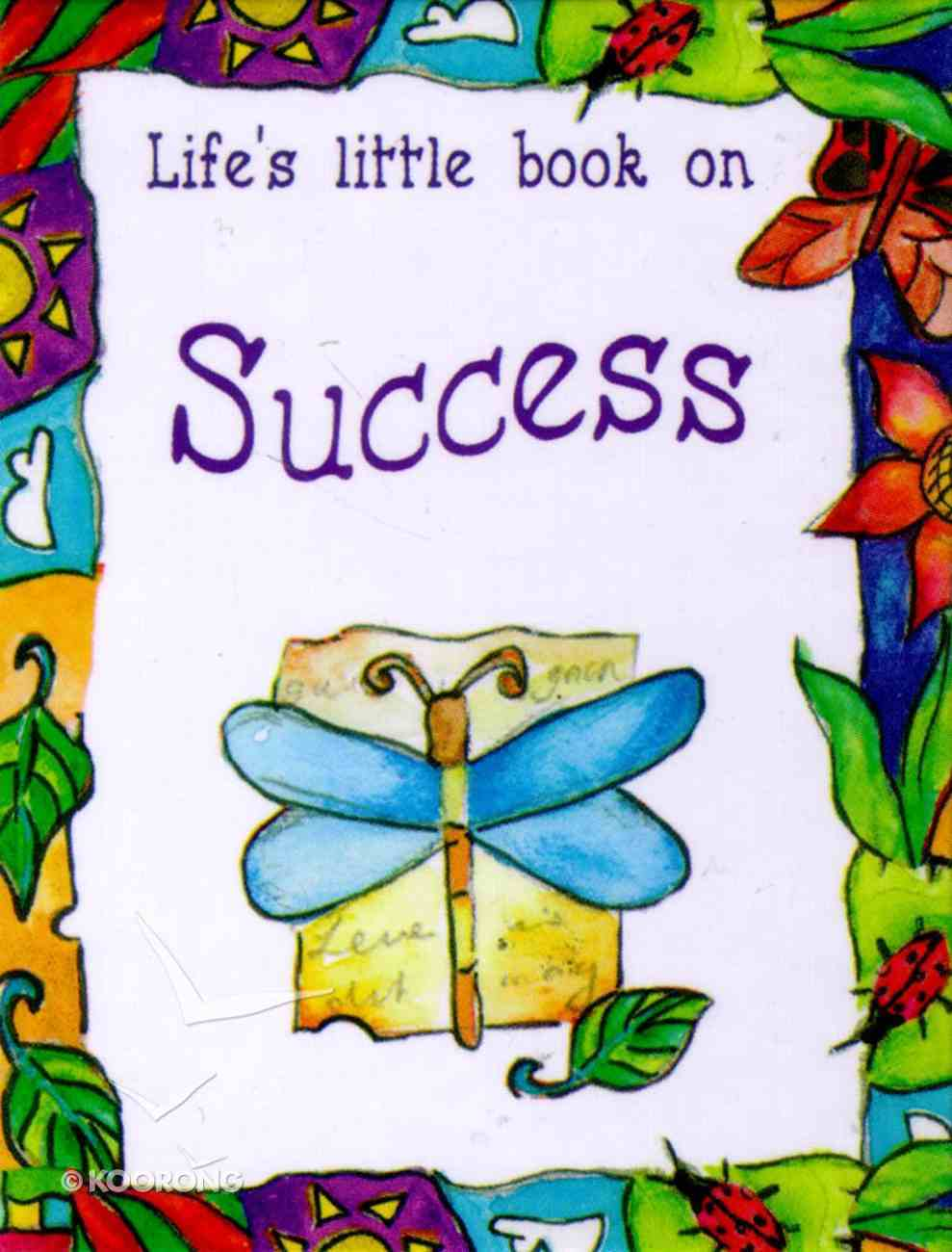 Life's Little Book on Success Hardback