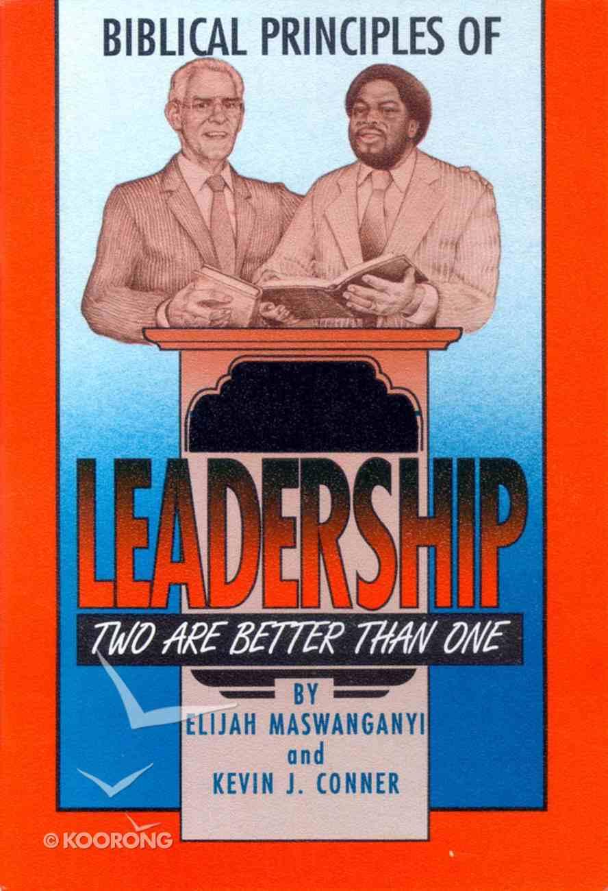 Biblical Principles of Leadership Paperback